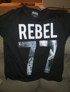 Ladies star wars tee shirt